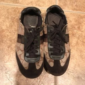 Coach sneakers size 9